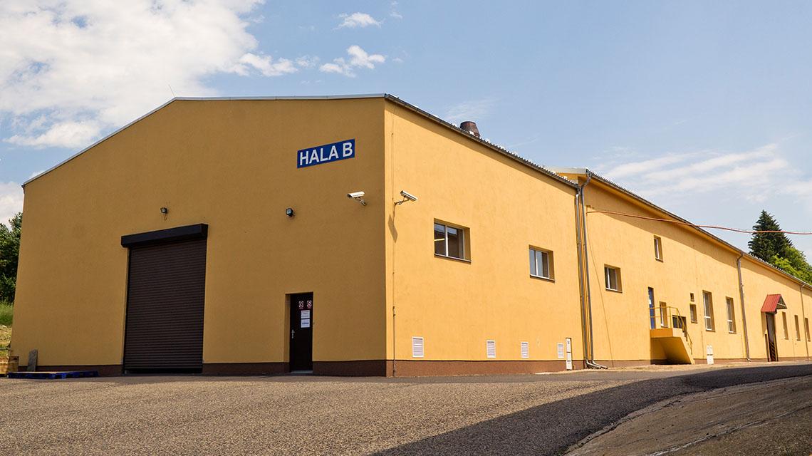 fotka další výrobní haly